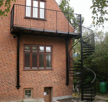 Trapper,udendørs,indendørs trapper, ståltrapper,jern trapper ...